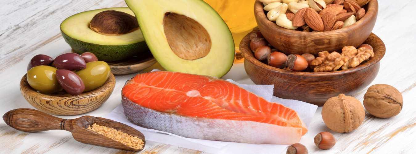 Продукты с полиненасыщенными жирными кислотами Омега 3