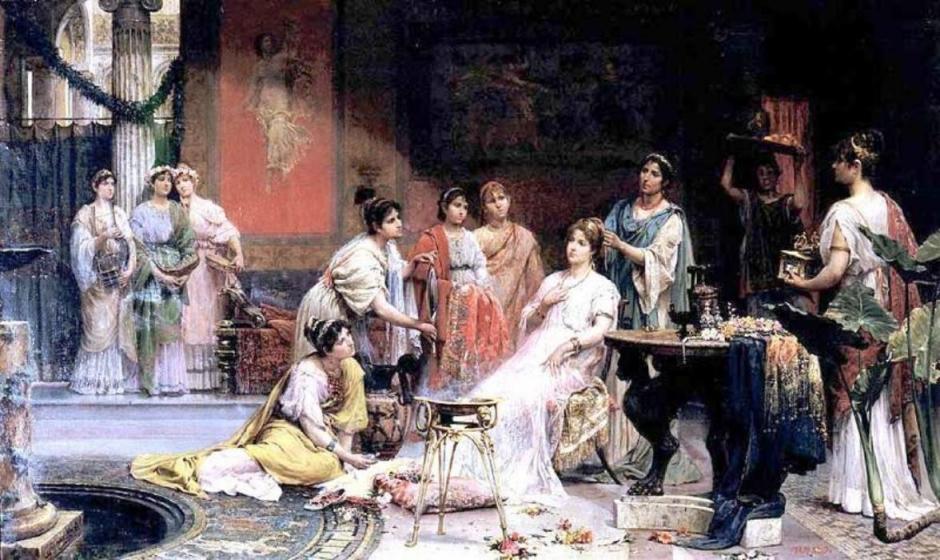 Красота и уход в Древнем Риме